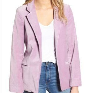 NWT Zadig & Voltaire Volly Velours Jacket